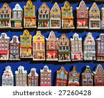 Model Houses  Fridge Magnets