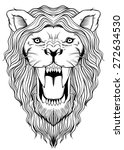 lion art | Shutterstock .eps vector #272634530