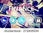 business accounting financial... | Shutterstock . vector #272635034