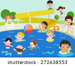 summer children | Shutterstock .eps vector #272638553