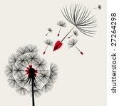 blow dandelion | Shutterstock .eps vector #27264298