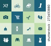 accessories icons universal set ... | Shutterstock .eps vector #272653880
