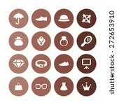accessories icons universal set ... | Shutterstock .eps vector #272653910
