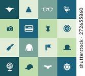 accessories icons universal set ... | Shutterstock .eps vector #272655860