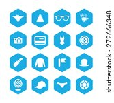 accessories icons universal set ... | Shutterstock .eps vector #272666348