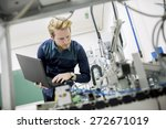 engineer in the factory | Shutterstock . vector #272671019