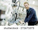 engineer in the factory | Shutterstock . vector #272671073