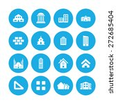 architecture icons universal... | Shutterstock .eps vector #272685404