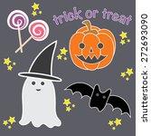 halloween vector design...   Shutterstock .eps vector #272693090
