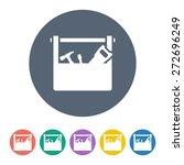 repair tool icon. | Shutterstock .eps vector #272696249