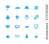 accessories icons universal set ...   Shutterstock .eps vector #272702360