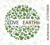 love earth | Shutterstock .eps vector #272703830