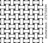 seamless dark gray woven... | Shutterstock .eps vector #272710244