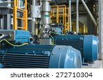 electric industrial generator... | Shutterstock . vector #272710304