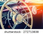 interior of a classic vintage... | Shutterstock . vector #272713838
