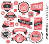 creative vector badges  labels... | Shutterstock .eps vector #272714114