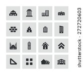 architecture icons universal... | Shutterstock .eps vector #272720603
