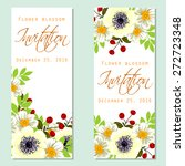 flower blossom. romantic... | Shutterstock .eps vector #272723348