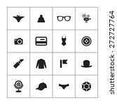 accessories icons universal set ... | Shutterstock .eps vector #272727764