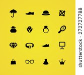 accessories icons universal set ... | Shutterstock .eps vector #272727788