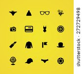 accessories icons universal set ... | Shutterstock .eps vector #272729498