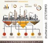 industry infographics template  ...   Shutterstock .eps vector #272739893