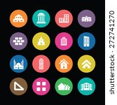 architecture icons universal... | Shutterstock .eps vector #272741270