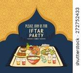 holy month of prayer  ramadan...   Shutterstock .eps vector #272752433