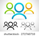characters  group of people... | Shutterstock .eps vector #272760710