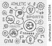 sport hand draw integrated...   Shutterstock .eps vector #272769554