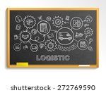 logistic hand draw integrated... | Shutterstock .eps vector #272769590