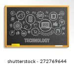 technology hand draw integrate... | Shutterstock .eps vector #272769644