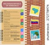 venezuela infographics ... | Shutterstock .eps vector #272778974