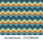 sea waves painted zigzag...