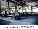 closeup image of a gym interior ... | Shutterstock . vector #272794520