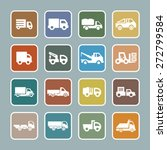 truck icon set | Shutterstock .eps vector #272799584