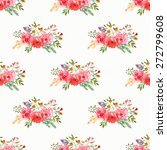 vector illustration of floral... | Shutterstock .eps vector #272799608