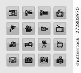 video icon set | Shutterstock .eps vector #272803970