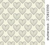 seamless spotty pattern with... | Shutterstock .eps vector #272815550