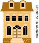house | Shutterstock .eps vector #27282334