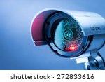security cctv camera in office... | Shutterstock . vector #272833616