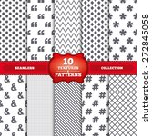 repeatable patterns and... | Shutterstock .eps vector #272845058