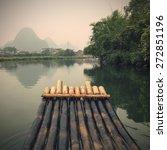 china guilin yangshuo bamboo...   Shutterstock . vector #272851196