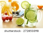 Detox Water With Various Types...