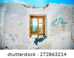 Old Window In Abandoned House...