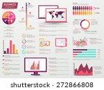 a big set of various... | Shutterstock .eps vector #272866808