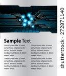 brochure  flyer  magazine cover.... | Shutterstock .eps vector #272871140
