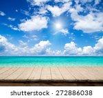 sea | Shutterstock . vector #272886038