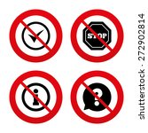 no  ban or stop signs.... | Shutterstock .eps vector #272902814