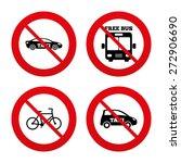no  ban or stop signs. public... | Shutterstock .eps vector #272906690